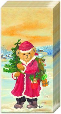 Pappersnäsdukar  Julnalle