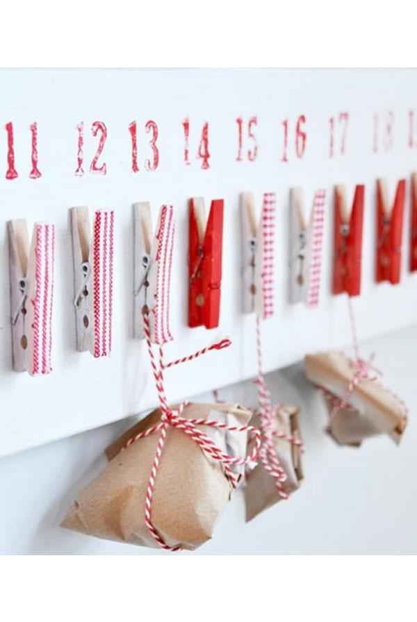 Paketkalender flicka