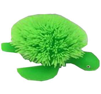 Fluffig mjuk blinkande sköldpadda