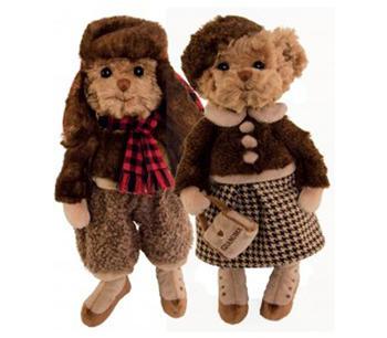 Bukowskinalle mormor Eleonora och Staffan