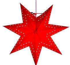 Adventsstjärna röd 34 cm