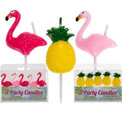 Tårtljus Ananas och Flamingo