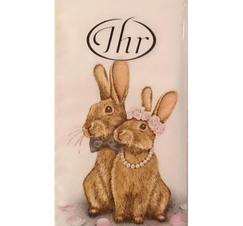 Pappersnäsdukar kaniner