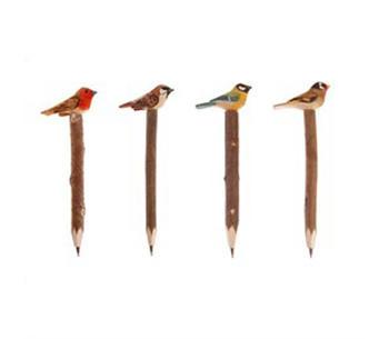 Penna med  fågel