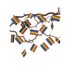 Flagg girland Regnbåge Pride