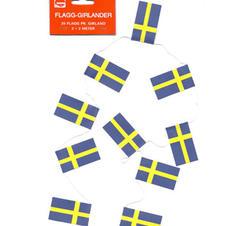 Flagg girland Sverige