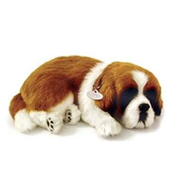 Leksakshund S:t Bernard