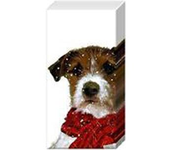 Pappersnäsdukar Archie hund