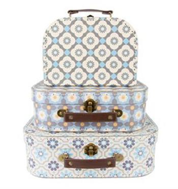 Resväskor mosaik