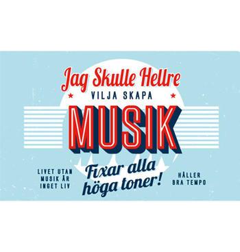 Personlig mugg Musik