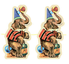 Girland elefanter
