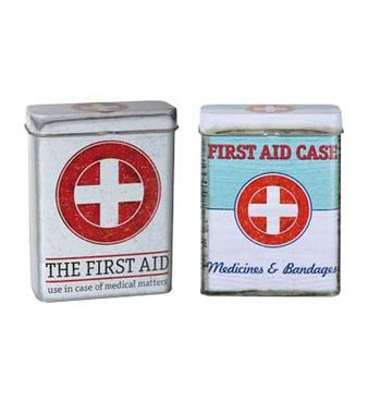 Plåtburk first aid