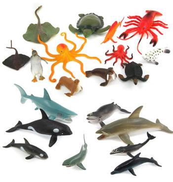 Undervattensdjur små