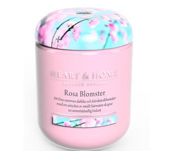 Doftljus Rosa Blomster