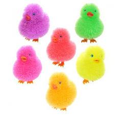 Fluffig mjuk blinkande kyckling