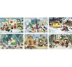 Kalenderkort med kuvert