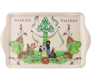 Bricka Sverige midsommar