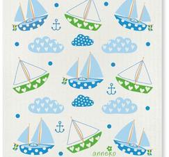 Disktrasa båtar