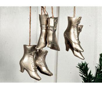 Hängande vintage skor