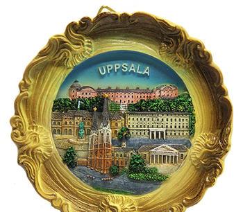 Relieftallrik  Uppsala
