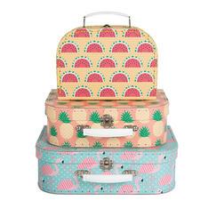 Resväskor tropisk sommar