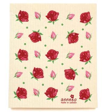 Disktrasa med rosor