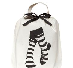 Bag-all tygpåse strumpor