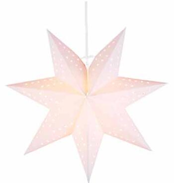 Adventsstjärna vit 34 cm