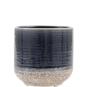 Kruka i keramik med glasyr