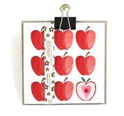 Dubbelt kort med fröband – Röda Äpplen