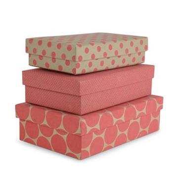 Förvaringsboxar i papp