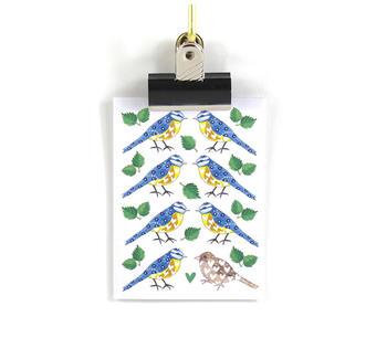 Litet Miljövänligt kort – Blåmes
