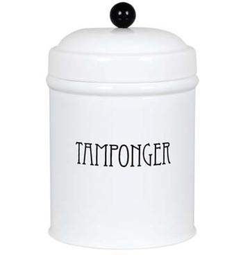 Plåtburk TAMPONGER