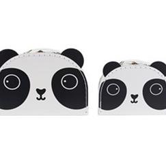 Resväskor panda