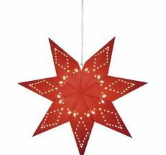 Adventsstjärna röd 43 cm