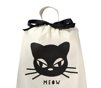Bag-all tygpåse katt meow