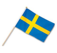 Handflagga Sverige