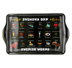Bricka svenska ord