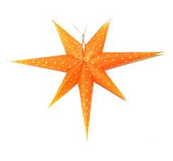 Adventsstjärna orange 60cm
