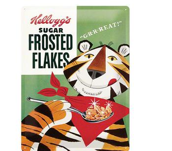 Plåtburk Frosted flakes