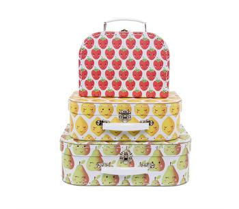 Resväskor bär och frukt