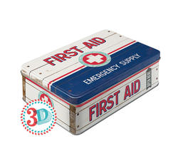 Plåtskrin First Aid Kit